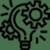 Innovation graphic line icon